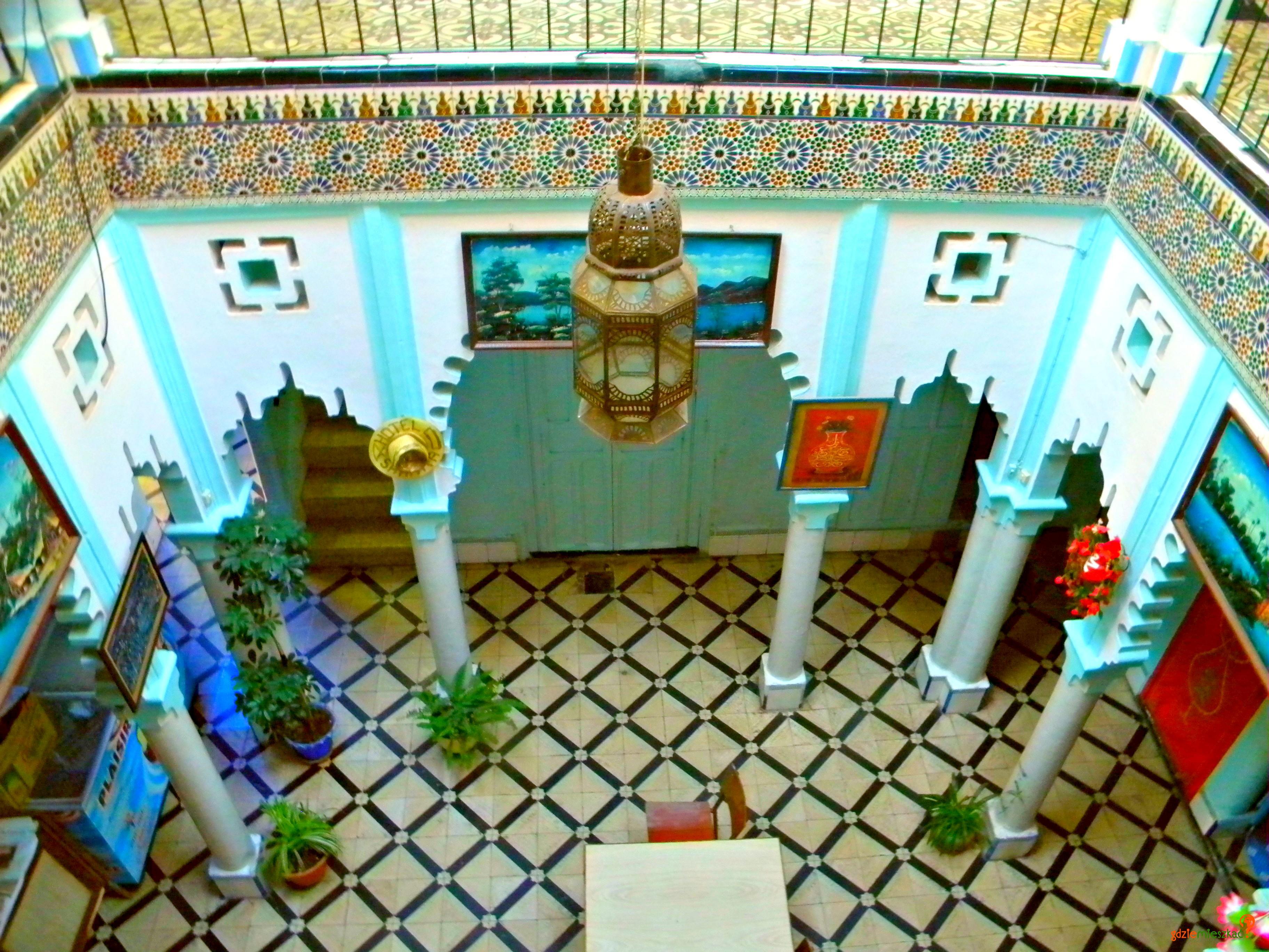 Zillej to część wspaniałej dekoracji naszego hotelu w Szafszawanie